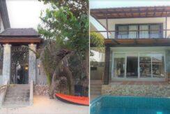 A vendre villa bord de mer à Maenam Koh Samui