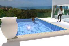 Villa en construction à Bophut Koh Samui à vendre