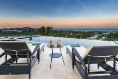 Villa vue mer Chaweng à Koh Samui à vendre