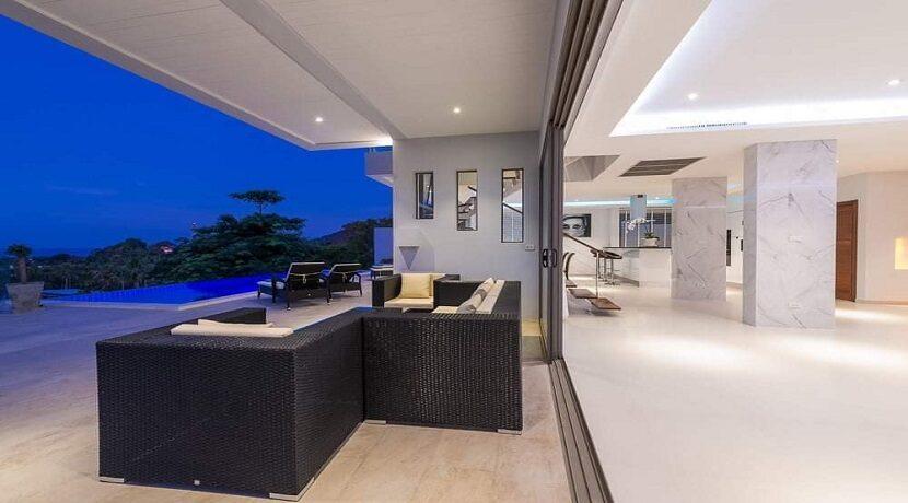 Villa vue mer Chaweng à Koh Samui à vendre 013