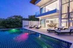 Villa vue mer Chaweng à Koh Samui à vendre 02