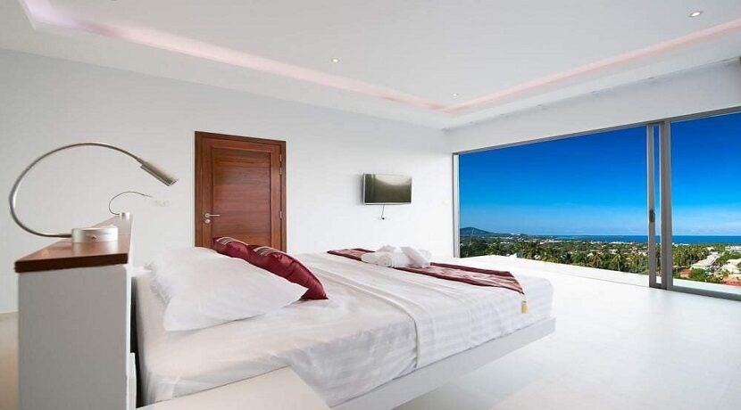 Villa vue mer Chaweng à Koh Samui à vendre 020