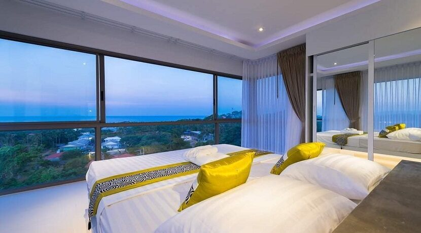 Villa vue mer Chaweng à Koh Samui à vendre 021