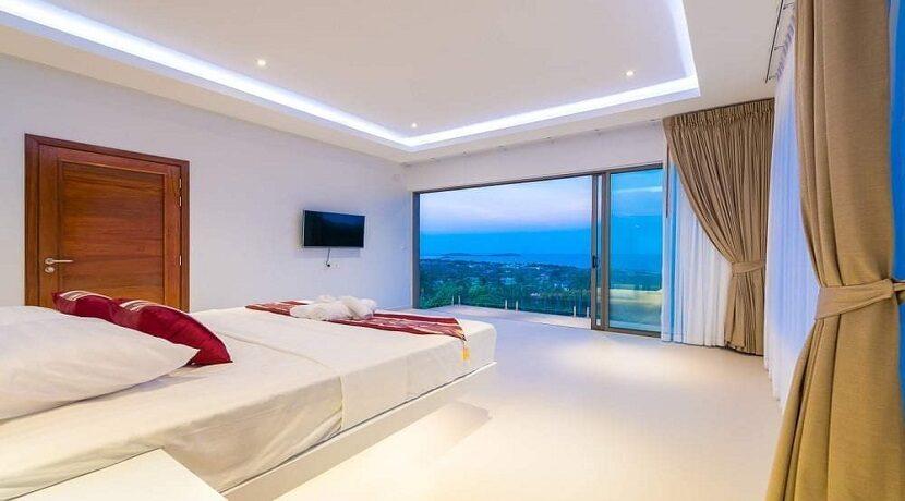 Villa vue mer Chaweng à Koh Samui à vendre 024