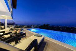 Villa vue mer Chaweng à Koh Samui à vendre 026B