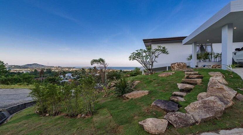 Villa vue mer Chaweng à Koh Samui à vendre 028