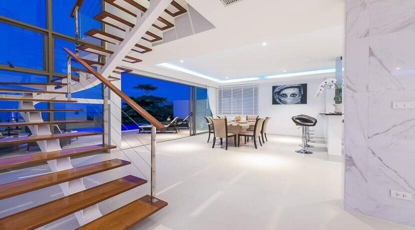 Villa vue mer Chaweng à Koh Samui à vendre 03