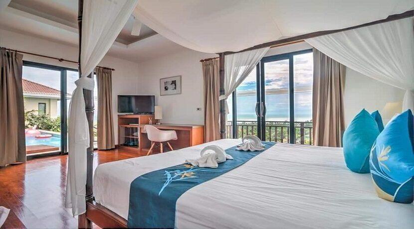 Villa vue mer à Lamai Koh Samui à vendre 011