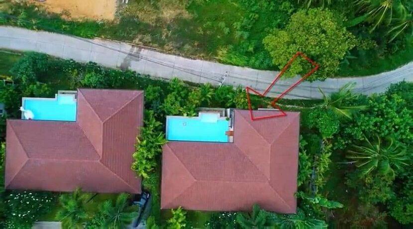 Villa vue mer à Lamai Koh Samui à vendre 017