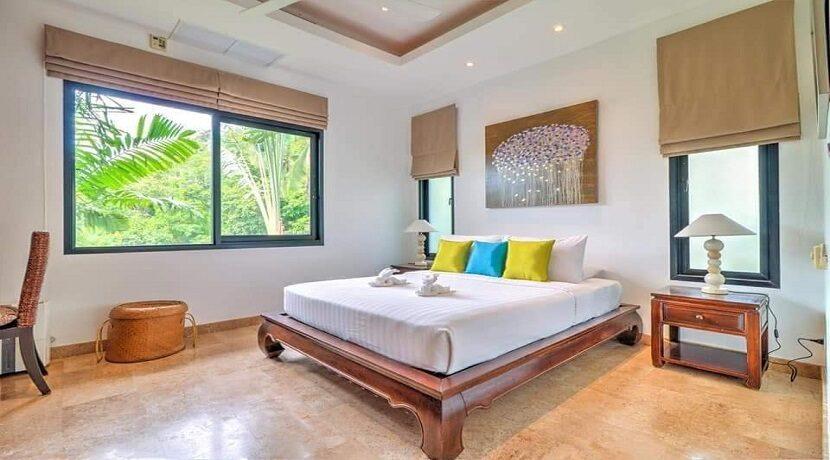 Villa vue mer à Lamai Koh Samui à vendre 09
