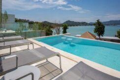 A vendre villa à Plai Laem Koh Samui vue mer