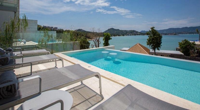 A vendre villa à Plai Laem Koh Samui – 4 chambres piscine avec vue mer