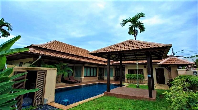 Villa 4 chambres à Bophut Koh Samui avec piscine et jardin à vendre
