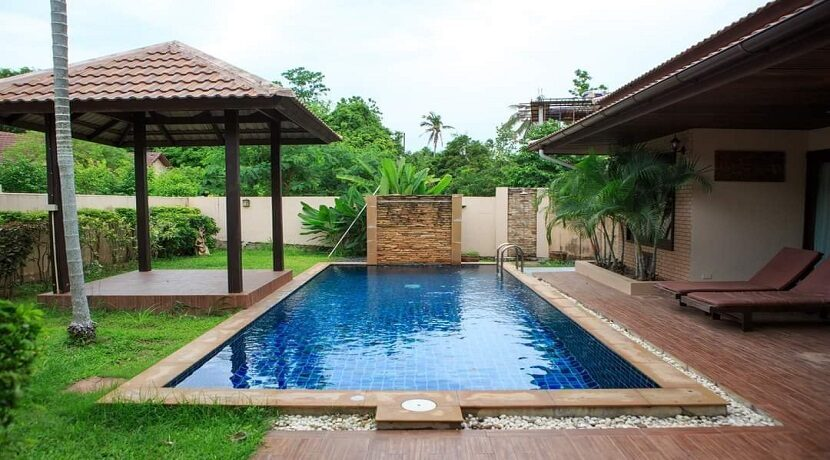Villa 4 chambres à Bophut Koh Samui à vendre 032