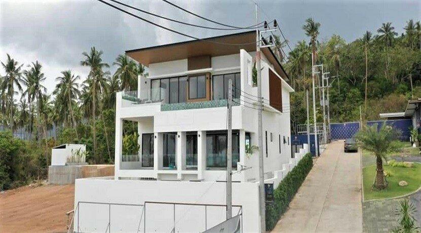Villa vue mer Bophut à Koh Samui à vendre 01