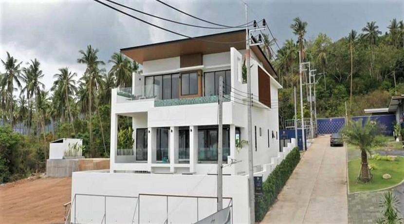 Villa vue mer Bophut à Koh Samui à vendre – 3 chambres et piscine privée