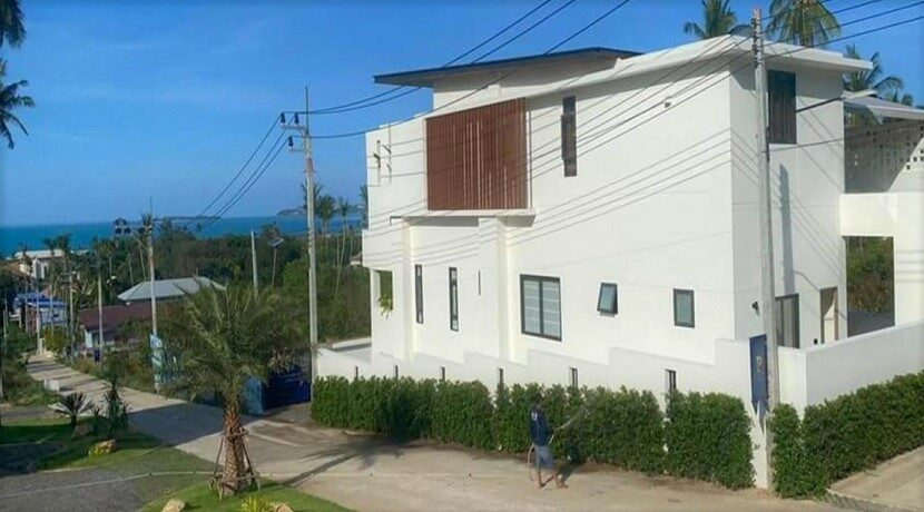 Villa vue mer Bophut à Koh Samui à vendre 019