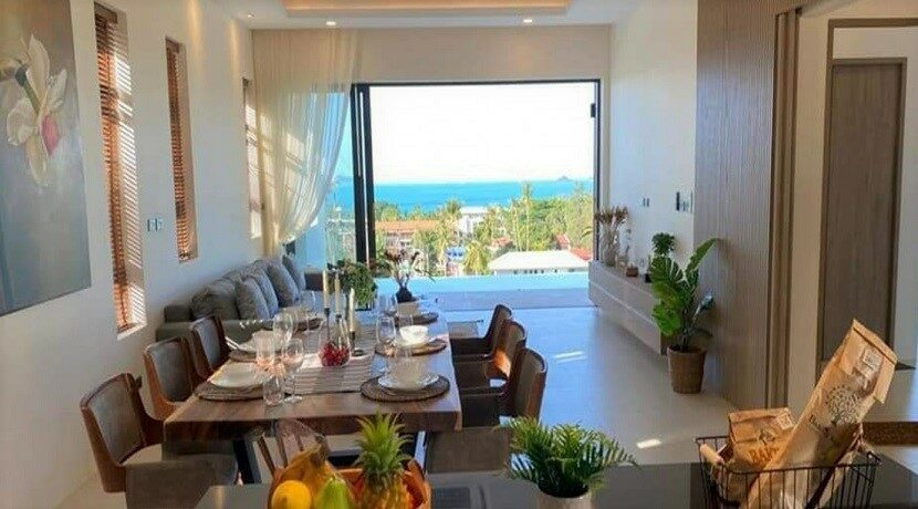 Villa vue mer Bophut à Koh Samui à vendre 07